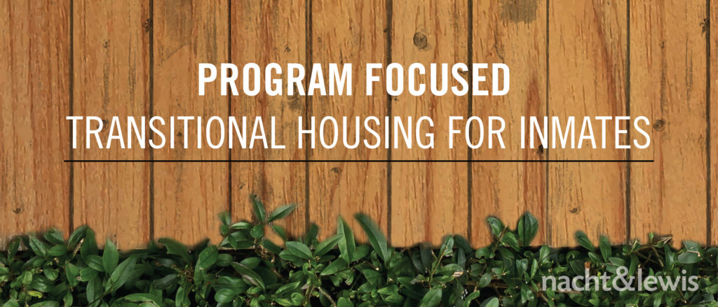 Program Focused Transitional Housing